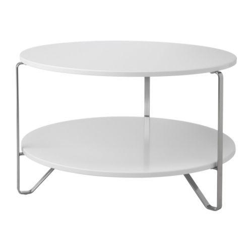 IMFORS Soffbord IKEA Separat hylla för förvaring av exempelvis tidningar hjälper dig att hålla ordning på dina saker och frigör bordsyta.