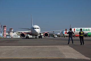 Ground Marshall Husein Sastranegara International Airport, Bandung Jawa Barat - Indonesia