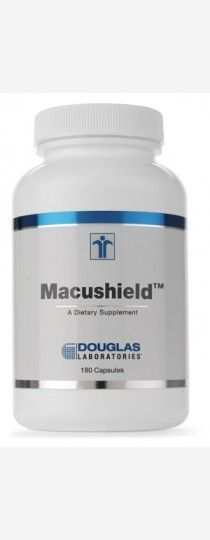Macushield by Douglas Laboratories - Macushield capsules of Douglas Laboratories provide a multi-vitamin and mineral formulation with several key nutrients, including vitamin A, betacarotene, bilberry extract, L-taurine, L-glutathione, and zinc that are important in maintaining normal eye function. Macushield capsules may be a useful dietary supplement for those who wish to increase their intake of nutrients that may support the healthy functioning of their vision.