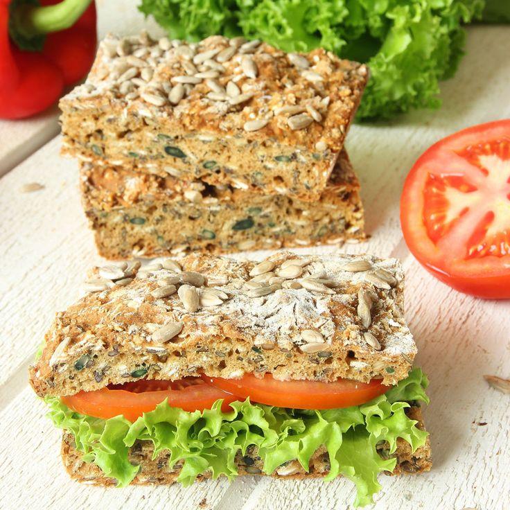 Rustikt, gott & lättgjort bröd som inte behöver jäsa!