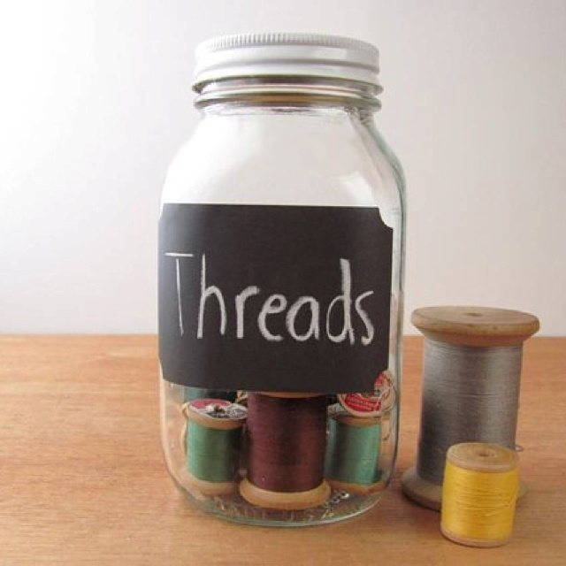 Chalkboard paint on mason jars?!