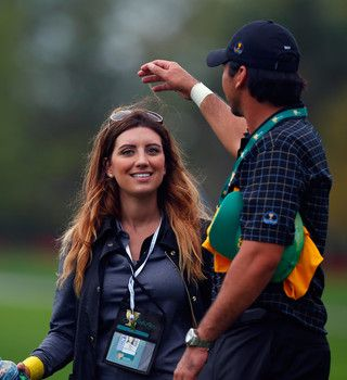 Hot photos of Ellie Harvey the wife of golfer Jason Day in 2014