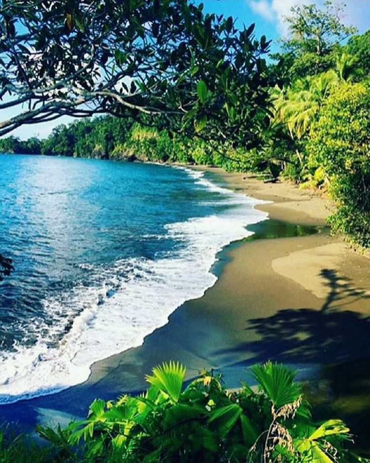 Is it Friday yet? In need of a beach & a weekend. This beach at Corcovado National Park via @costarica_natural_paradise is especially enticing. Costa Rica #vacations #crexperts #weekendready