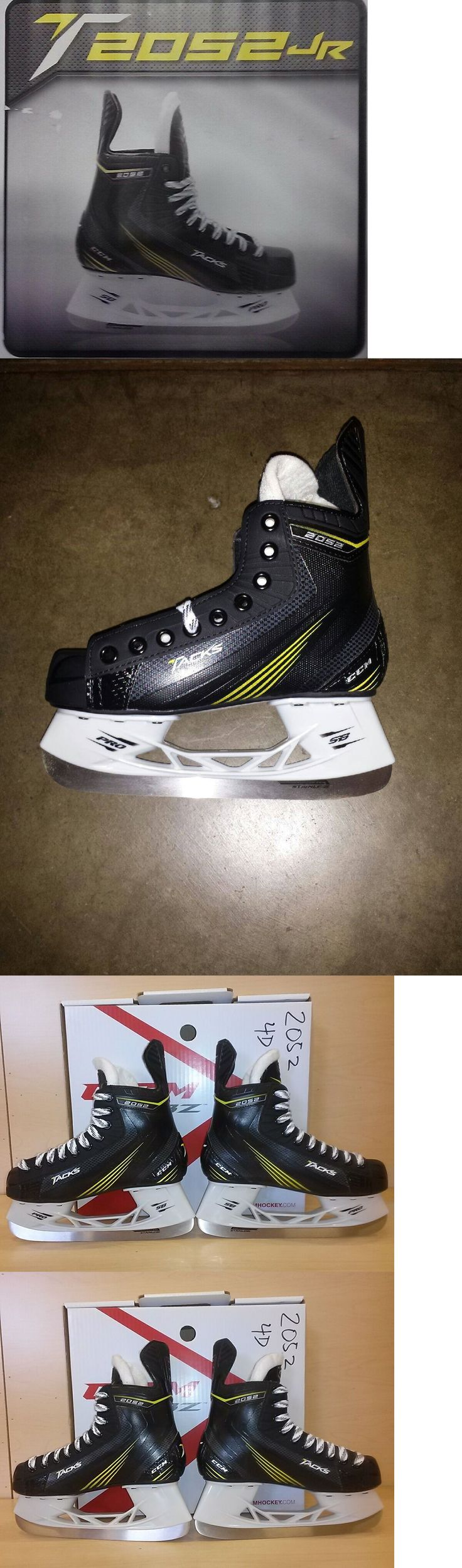 Ice Hockey-Youth 26342: New Ccm Tacks 2052 Junior Ice Hockey Skates -> BUY IT NOW ONLY: $89.99 on eBay!
