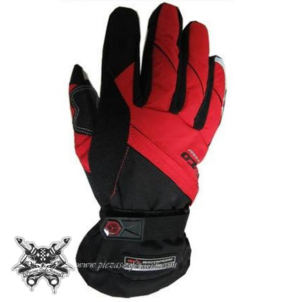 34,61€ - ENVÍO GRATIS - Guantes Racing de Moto Piloto con Protecciones Válidos Para Pantalla Táctil Color Negro/Azul