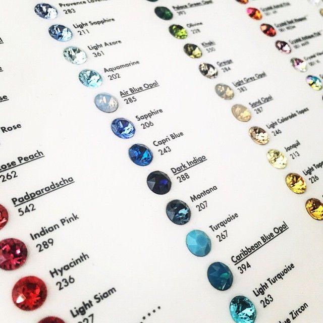 Decisions... #Swarovski #Crystals #Handmade