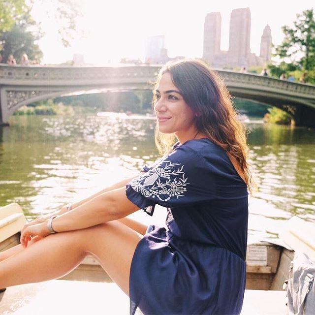 Ozge Hiz / Central Park, New York, Loeb's Boathouse, boat ride in Central Park