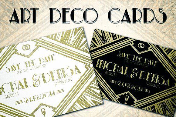 Art Deco Cards @creativework247