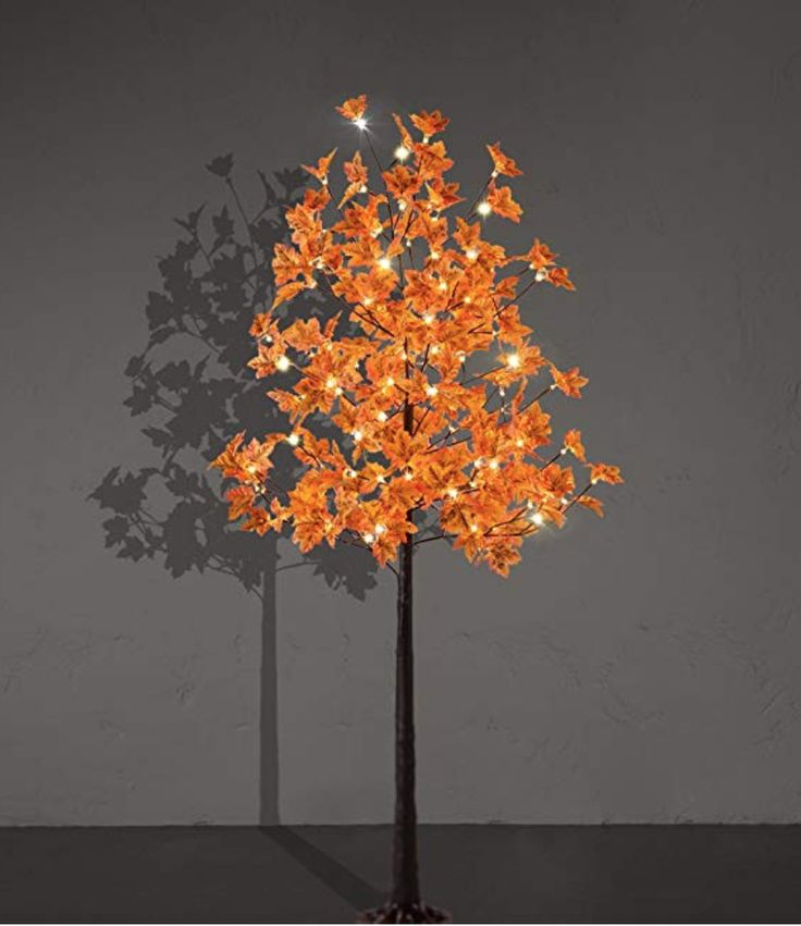 Lightshare Led Lighted Maple Tree White Led Lights Warm White Light Up Tree
