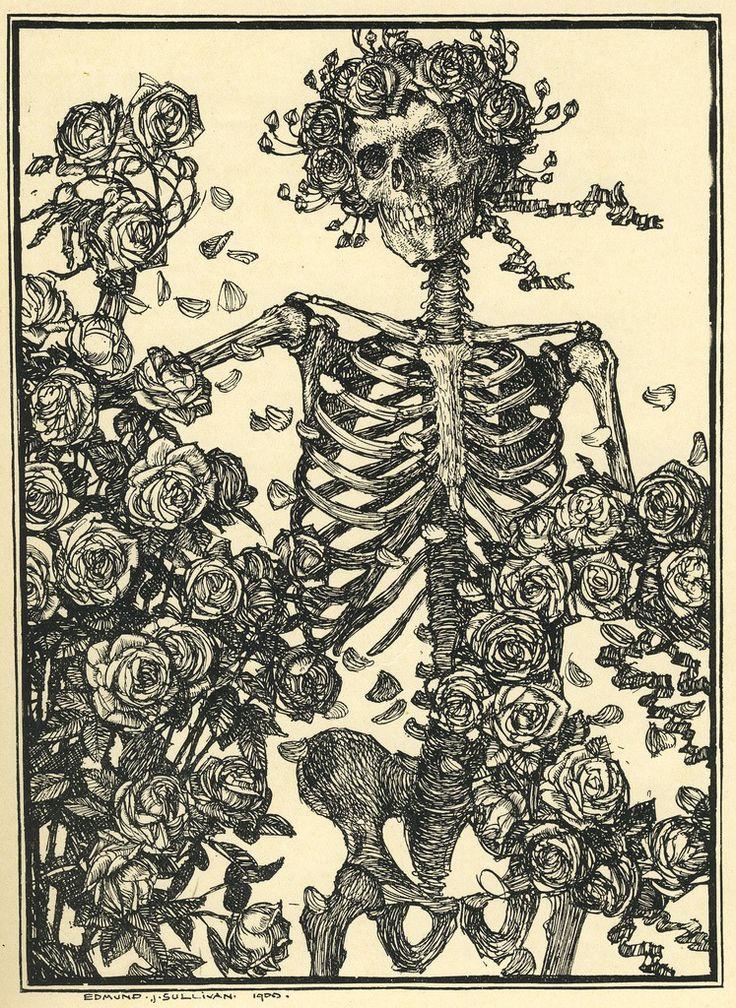 Rosy skeleton