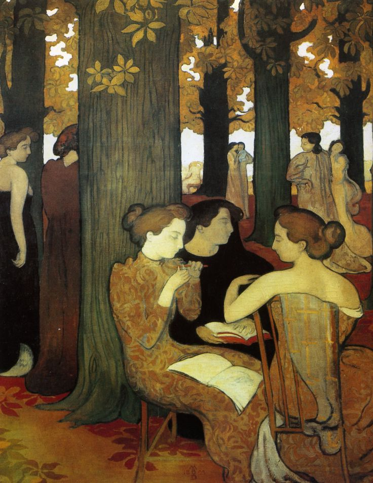 'The Muses'  by Maurice Denis