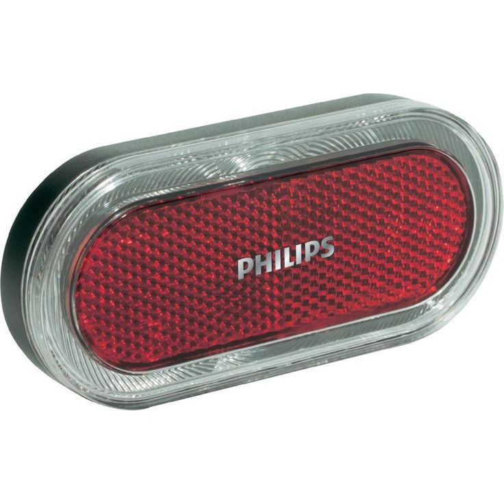 Philips LED Fahrrad-Rücklicht Lumi Ring, Dynamo Fahrrad-Beleuchtung, Fahrradlicht, Fahrrad Zubehör 35141528 LED RearlLig