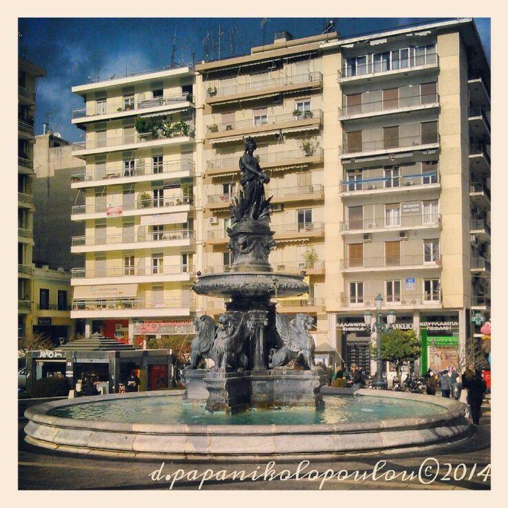 Patras central square, Greece