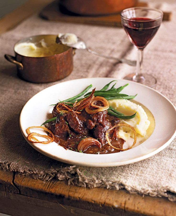 Try this slow-cooked venison recipe – the meat cooks to the softness of butter within hours and is complemented perfectly with the sweetness of the prunes.