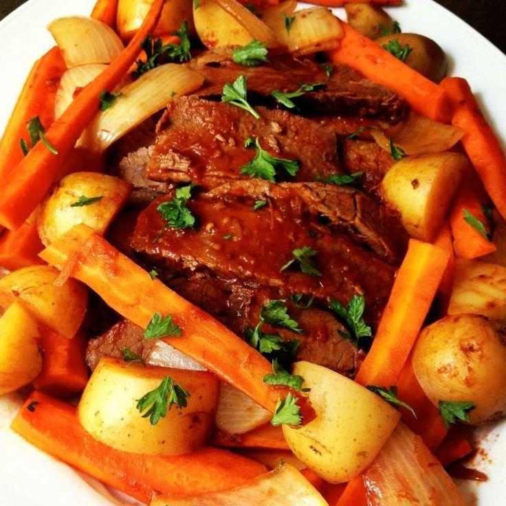 Beef Brisket - The Lemon Bowl #brisket #beef #roshhashanah