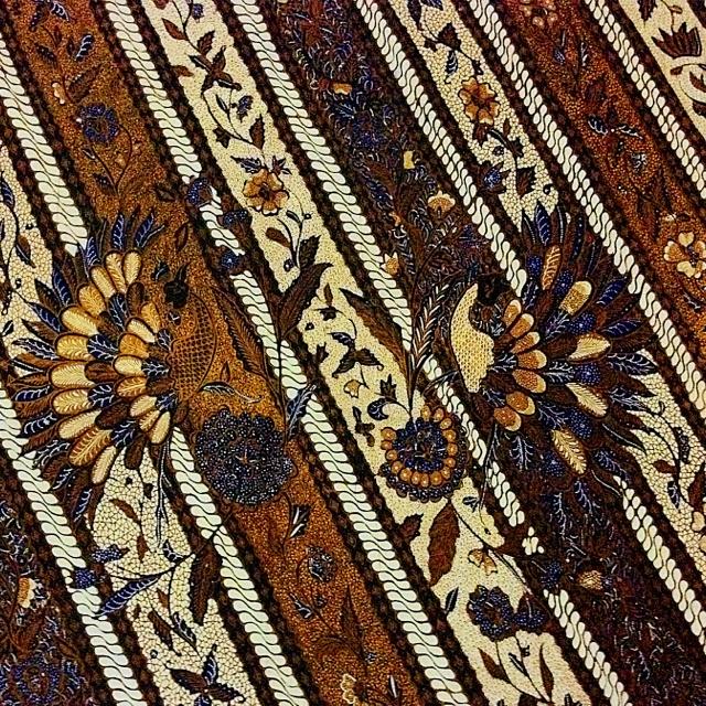 Batik Lawas Sogan - Indonesia