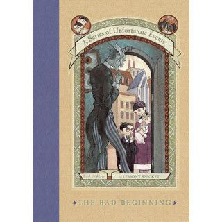 The first Series of Unfortunate Events gift - this set Includes books 1-3. - The set includes The Bad Beginning, The Reptile Room, and The Wide Window Lemony Snicket is often despondent mostly about h