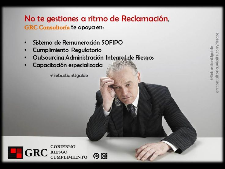 GRC consultoría y capacitacón en Gobierno Corporativo, Administración Integral de Riesgos y Cumplimiento regulatorio.
