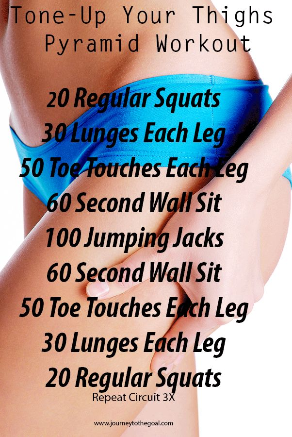 Exercise plans to tone up at home.