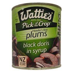 watties black doris plums - Google Search