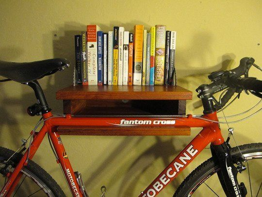 5 Handmade Bike Shelves & Racks for Small Spaces | Apartment Therapy
