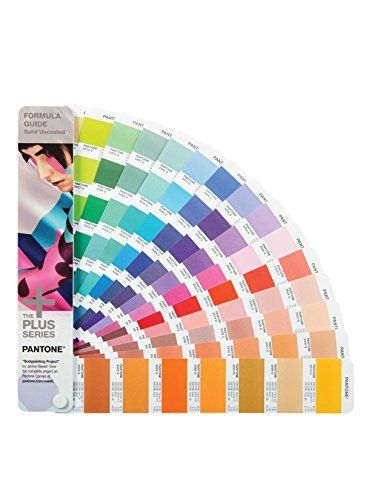 Uncoated Book Only Plus Series Formula Guide pantone GP1601N  Pantone Formula Guides Solid Uncoated  Portable fan guide forma  PANTONE COLOR MANAGER Software for updating  PANTONE Colors in popular design applications Ink mixing formulas in parts  1,755 solid PANTONE Colors, including 560 new market-ready hues (Uncoated)