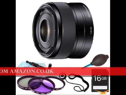 http://youtu.be/ukBjQytlX90 Beach Camera NEW Essentials Bundle 35mm f/1.8 Prime Fixed Lens (Sony SEL35F18) by Sony Authorized Dealer Ships from and sold by Beach Camera
