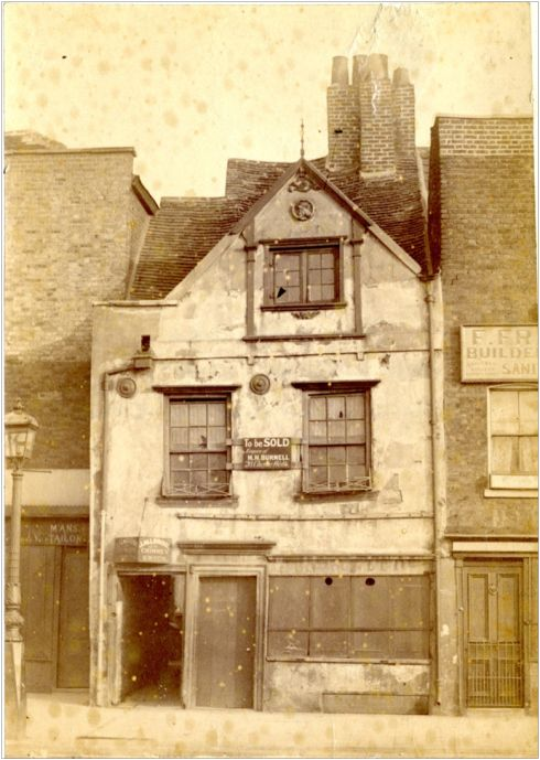 Mrs Maunder's fish shop, 72 Cheyne Walk