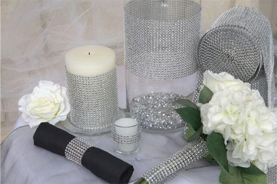 Sparkly Wedding Decorations | Sparkle & Bling Wedding Theme | Wedding ideas for Fisher's Ballrooms