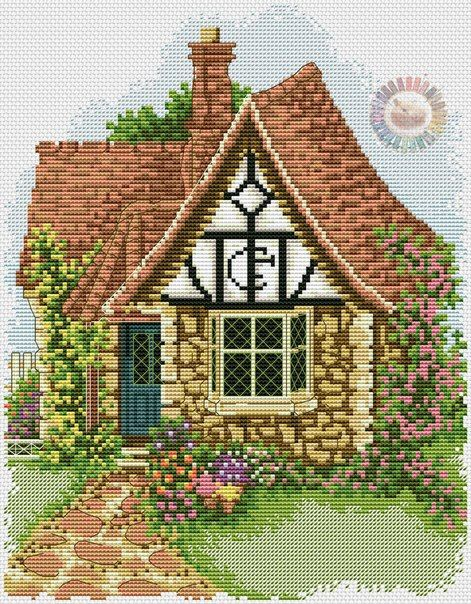 Flower Pots Cottage 1/6