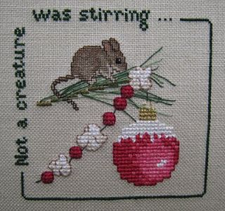 Stitching Dreams: Week Forty-Two: Not a Creature Was Stirring