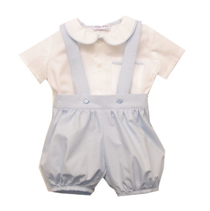William Shirt  Romper Pants. This baby boys outfit is ideal for any special occasion such as christening