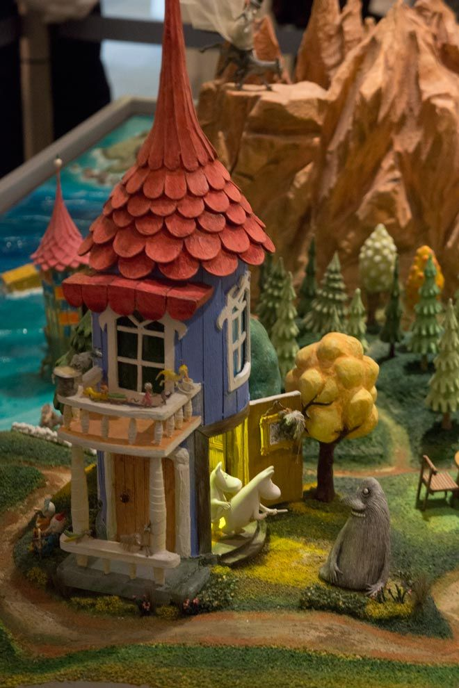 We couldn't resist visiting the TOVE 100 Moomin Exhibition in Tokyo, April 2014.