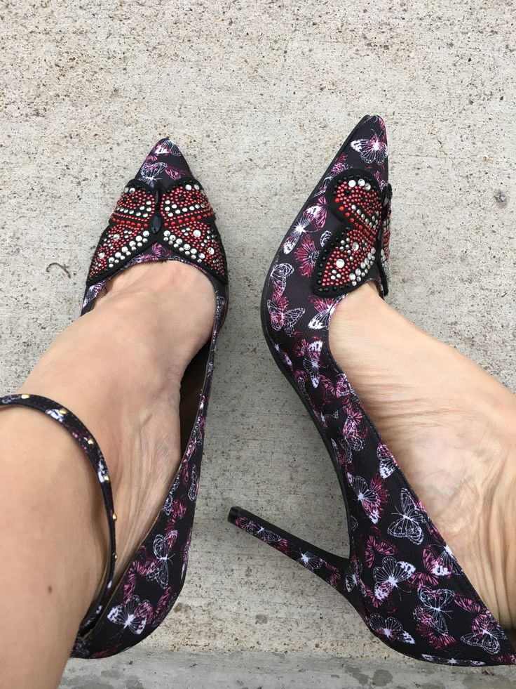 Pattern and sparkle heels at JCPenney- Libby Edelman