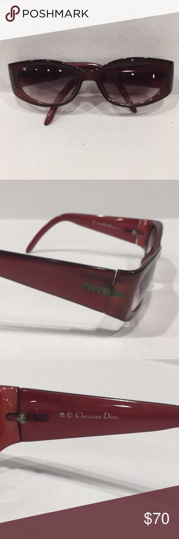 Christian Dior RX Sunglasses RX Glasses, ready for your RX to be inserted! Dior Accessories Sunglasses