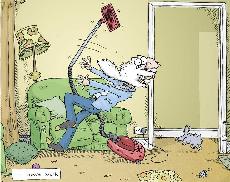 Simon's Cat Vs. the World: The Vacuum. Love the youtube clips of Simon's Cat,they're hilarious!!!!!!