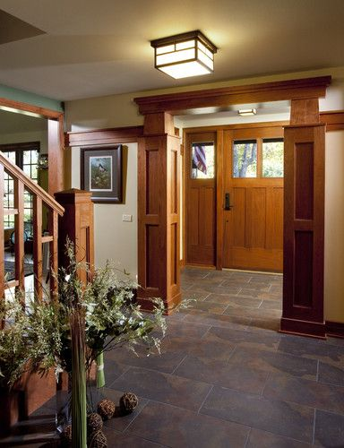Craftsman Foyer Design, Pictures, Remodel, Decor and Ideas