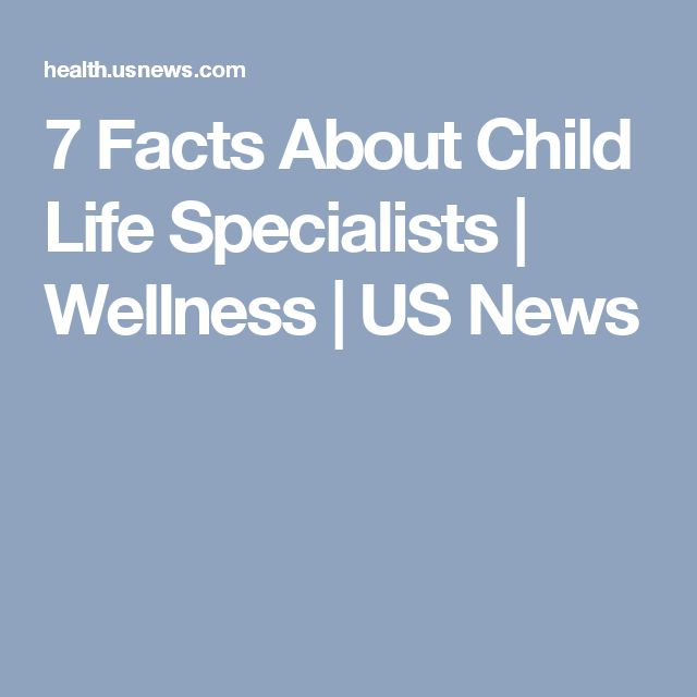 7 Facts About Child Life Specialists | Wellness | US News