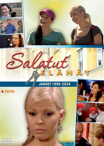 Salatut elämät - Box 10 DVD 14,95€