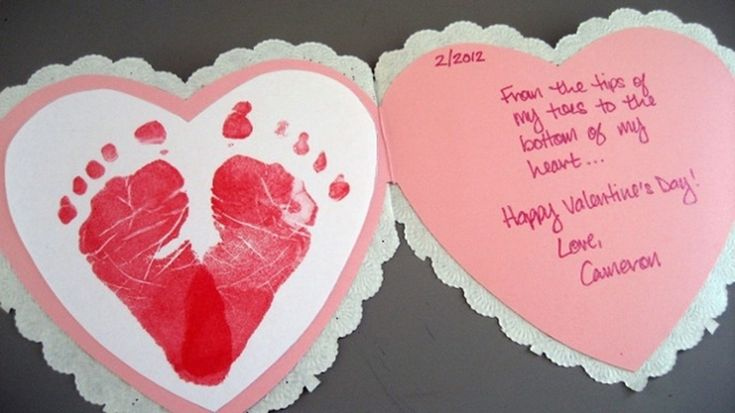 3 easy #DIY crafts for Baby's First Valentine's Day! #baby #babysteals #valentinesday