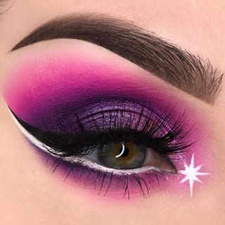 b9a3136ecdd @swayzemorgan Felt inspired by the new @bhcosmetics Aurora Lights palette  and came up with