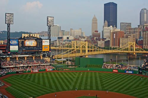 PNC Park, Pittsburgh PiratesAllegheny Rivers, Pittsburgh Sports, Pnc Stadium, Pnc Parks, Riverfront Parks, Baseball Stadium, Pittsburgh Pirates, Downtown Pittsburgh, Parks Pittsburgh