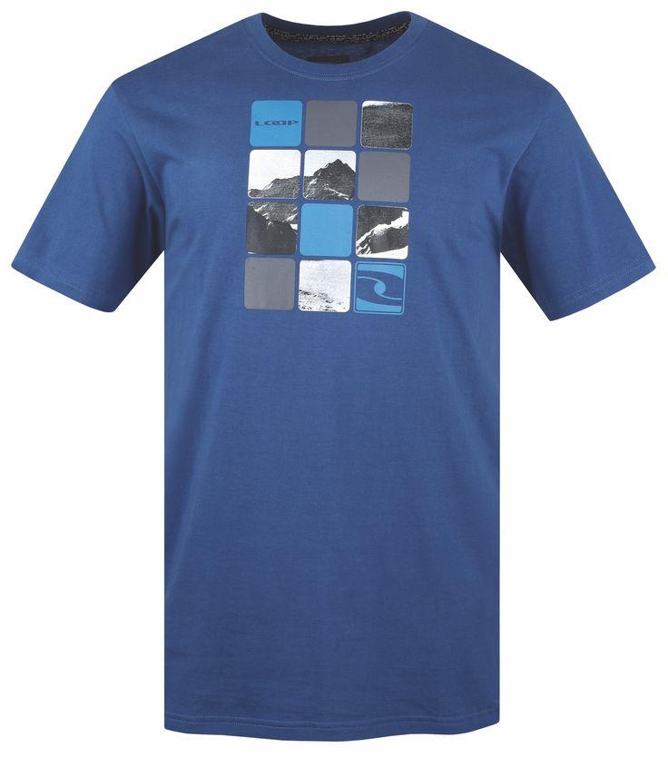 LOAP Pánské triko s krátkým rukávem ATOLL velikost S-XXL