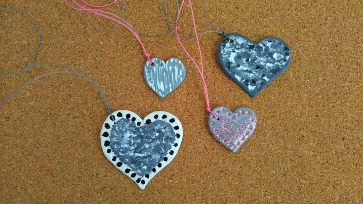 DIY heart-shaped jewelry!