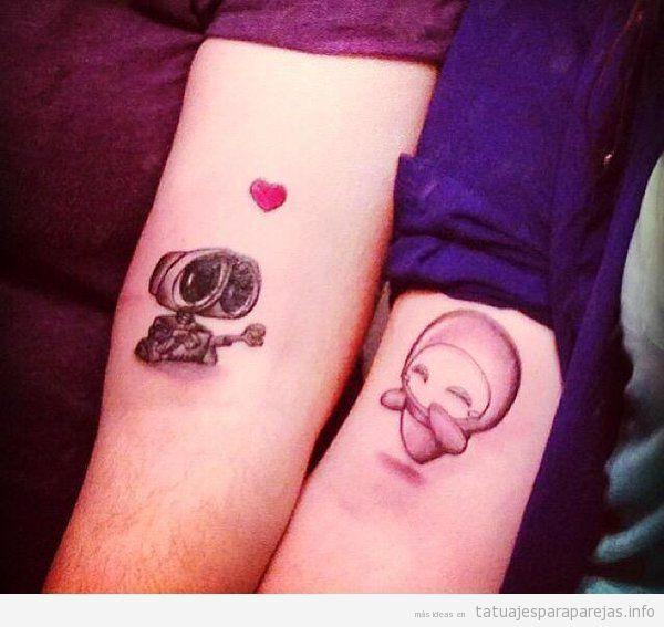 15 best tatuajes para parejas images on Pinterest Couple tattoos - tatuajes para parejas