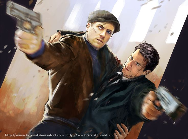 "The man from UNCLE by Brilcrist on DeviantArt ""Red Peril + Cowboy"" from ""The Man From U.N.C.L.E"""