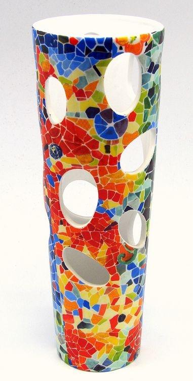 Gaudi Glass Vase