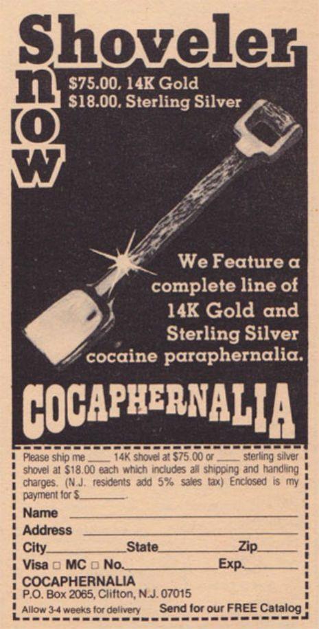 Let it snow: Shameless cocaine ads of the 1970s | Dangerous Minds