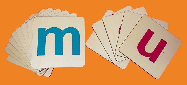Kartičky abeceda tiskací malá