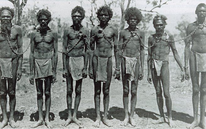 History. Indigenous Australians, or Australian Aborigines were the first to find land in Australia and later died because of foreign diseases, land loss, and conflicts with settlers.
